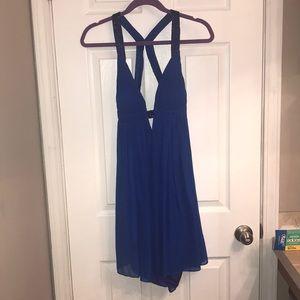 Cache dress, beautiful blue, justabove knee length